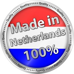 Made in The Netherlands 100%