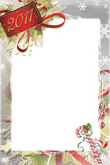 Christmas and New Year Photo Frame