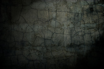 abstract background cracked old cement wall
