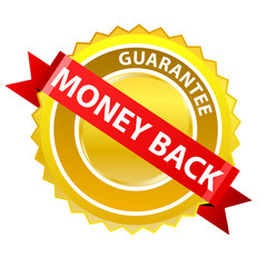 """Money back"" label"