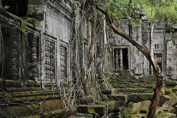 the secret jungle temple beng melea in cambodia