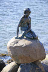 The Statue of the Little Mermaid - Copenhagen, Denmark