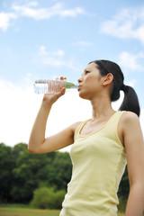 水分補給 女性