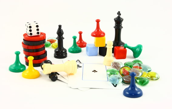 Family Fun Game Pieces
