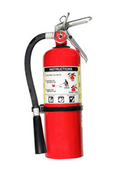 fire extinguisher with path