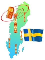 mobile connection of Sweden