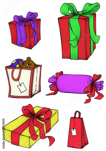 Clipart Weihnachtsgeschenke.Geschenke Geschenk Weihnachtsgeschenke Stock Image And Royalty