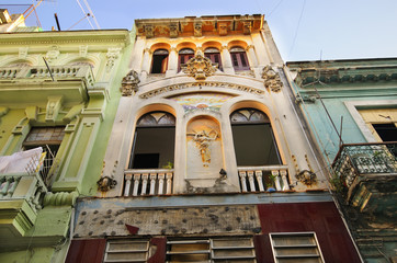 Old Havana architecture detail
