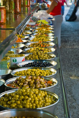 Olives at Conil Market Spain