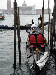Venise gondole