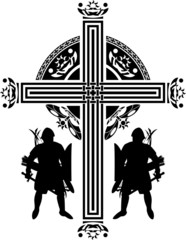 fantasy crusaders cross. first variant