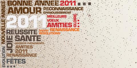 carte de voeux 2011