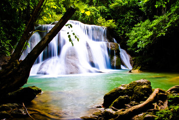 Chatkaew Huai Mae Kamin Kanchanaburi in Thailand