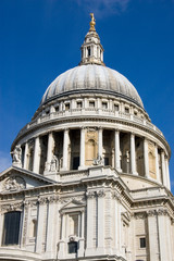 Dome of St Paul's Cathedral, London
