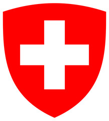 Wall Mural - Switzerland Coat or Arms