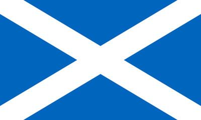 Wall Mural - Scotland Flag