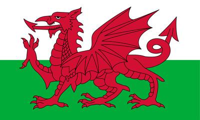 Wall Mural - Wales Flag