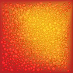 christmas stars on a red background