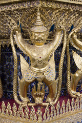 Mythical figure from the buddhist temple ,Bangkok .