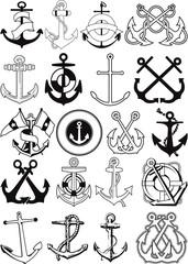 Set of 20 Anchors