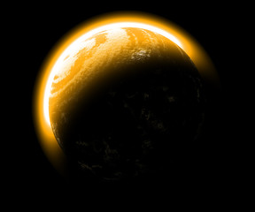 Fototapete - Sunplanet