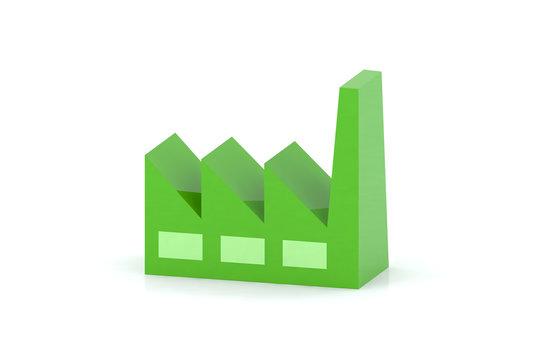 fabbrica 3d verde