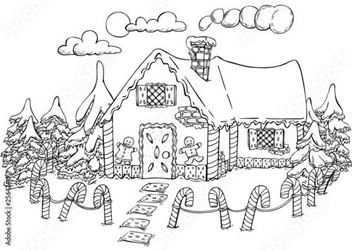 lebkuchenhaus weihnachten hexenhaus m rchen. Black Bedroom Furniture Sets. Home Design Ideas