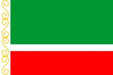 Drapeau-Tchétchénie:Officiel