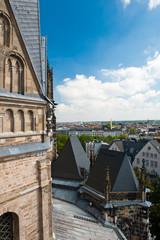 Blick vom Aachener Dom