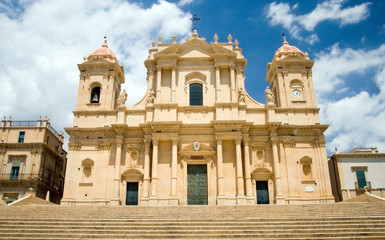 Wall Mural - Noto-The cathedral