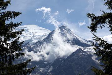 la catena del monte bianco