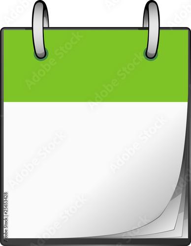 Calendario Vector.Calendario Verde Stock Image And Royalty Free Vector Files On
