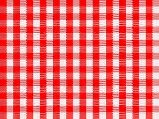 Checkered Traditional Red