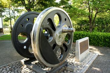 蒸気機関車 車輪
