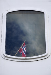Finestra di barca norvegese