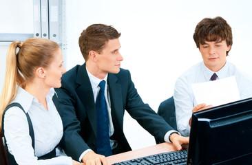 Business group portrait