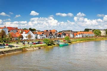 Minden mit Fischerstadt an der Weser, Deutschland