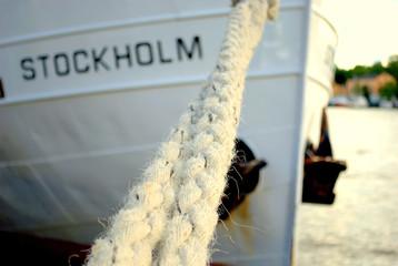 A boat called Stockholm