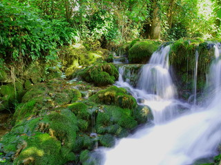Foto op Canvas Rastoke falls, Croatia