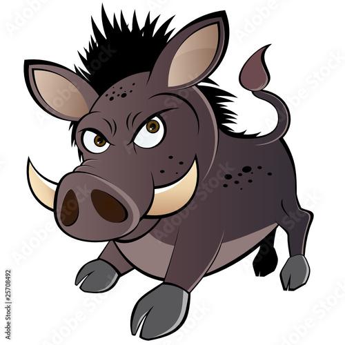Quot wildschwein cartoon lustig schwein comic stockfotos und