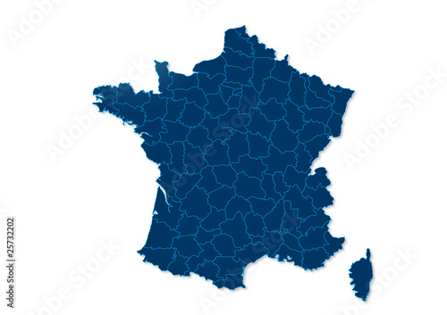 carte france bleu fonc photo libre de droits sur la banque d 39 images image 25732202. Black Bedroom Furniture Sets. Home Design Ideas