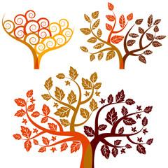 autumn - abstract tree