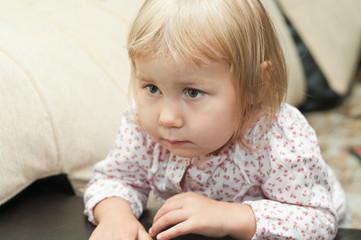 Little child portrait