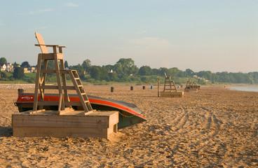 Lifeguard Station at Dawn