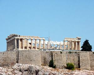 Parthenon , Acropolis of Athens - Greece