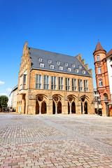 Altes Rathaus auf dem Markt von Minden, Deutschland