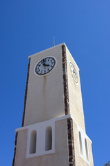 Clock tower in Oia
