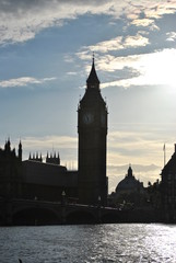 Big Ben and Westminster Bridge, London, UK