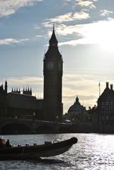 Big Ben adn Westminster Bridge, London, UK