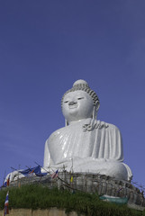 The Giant Big Marble Buddha at Phuket, Thailand